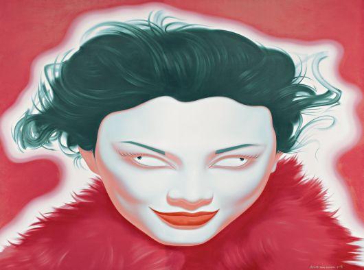 Feng Zhengjie, Chinese Portrait P Series 2006 No. 2, 2006