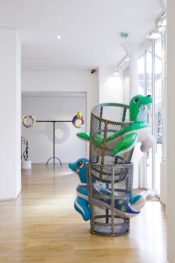 "Photo : JP Humbert - Jeff Koons - ""Popeye Sculpture"" - Galerie J"