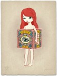 """Eye of """"Eternity"""" - limited-edition serigraph print that comes with the Art Edition (limited to 50)."""