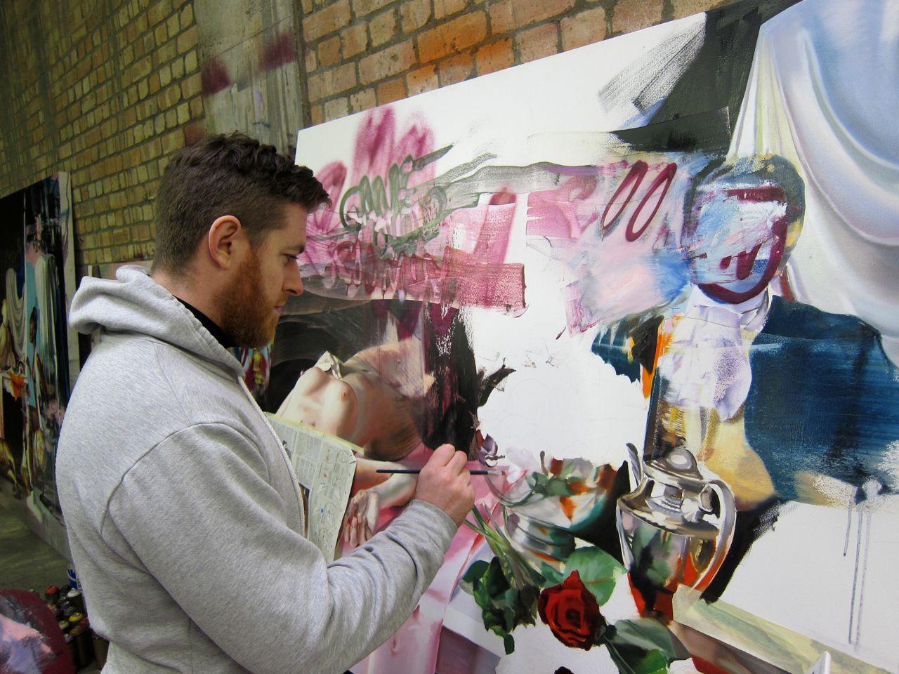 Conor Harrington Studio Visit Dead Meat AM 10