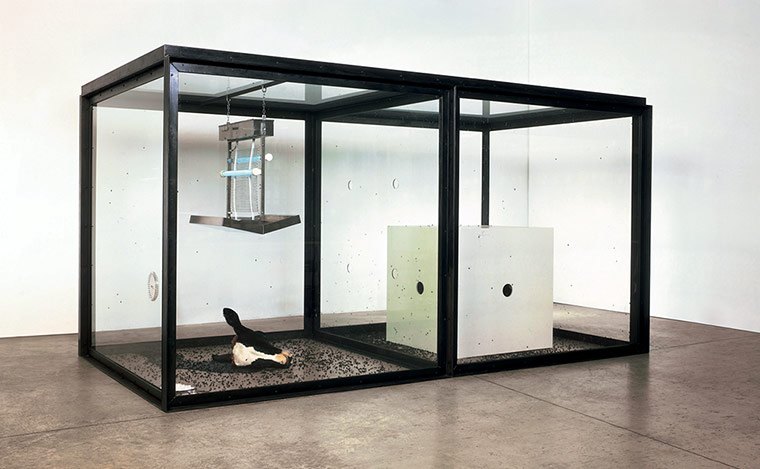 """""""A Thousand Years"""" Photograph: Damien Hirst and Science Ltd/Prudence Cuming Associates"""