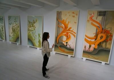 Inka Essenhigh Jacob Lewis Gallery AM 8